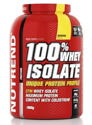 100% Вей Изолят/100% Whey Isolate Nutrend, банка 1800г