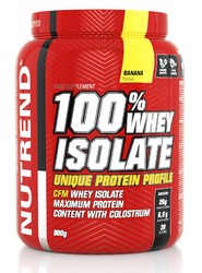 100% Вей Изолят/100% Whey Isolate Nutrend, банка 900г